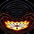 Fire Polar Coordinates Effect by Rose Santuci-Sofranko