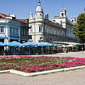 Freedom Square, Ruse, Bulgaria by Sally Weigand