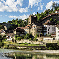 Fribourg Old Town In Switzerland by Didier Marti