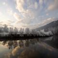 Frozen River by Angel Ciesniarska