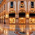 Galleria Vittorio Emanuele II Interior by Songquan Deng