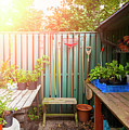 Garden Potting Table by Sophie McAulay