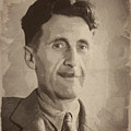 George Orwell 2 by Afterdarkness