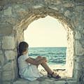 Girl At The Sea by Joana Kruse