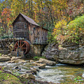 Glade Creek Grist Mill by Jane Luxton