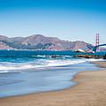 Golden Gate Bridge by Jayasimha Nuggehalli