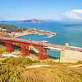 Golden Gate Bridge Vista Point by Benny Marty