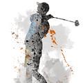 Golfer by Marlene Watson