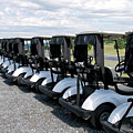 Golfing Golf Carts by Thomas Woolworth