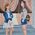 2 Gossip Girls by Juri Semjonov