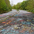 Graffiti Highway, Facing North by Ben Schumin