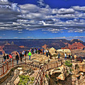 Grand Canyon #  4 - Mather Point Overlook by Allen Beatty