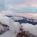Grand Canyon Above The Clouds by Daniel Shumny