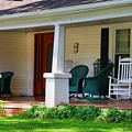 Grand Old House Porch by Kathryn Meyer