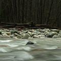 Granite And Water, Lynn Creek by Niall Flinn