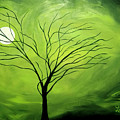 Green Night I by Linda Powell
