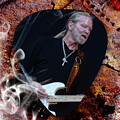 Gregg Allman Art by Marvin Blaine