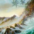 Hawaii Seascape by Leland Castro