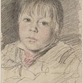 Head Of A Boy by William Henry