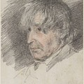 Head Of An Old Man by William Henry