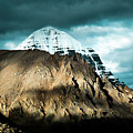Holy Kailas East Slop Himalayas Tibet Yantra.lv by Raimond Klavins