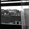 Hotel Window Butte Montana 1979 by David Lee Guss