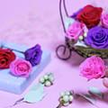 How To Make Preservrd Flower And Clay Flower Arrangement, Colorf by Eiko Tsuchiya