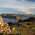 Isla De Sol Bolivia by Kurt Williams