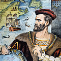 Jacques Cartier (1491-1557) by Granger