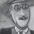 James Joyce by Roger Cummiskey