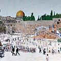 Jerusalem Day by Abraham Zimmermann