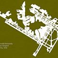 Jfk John Fitzgerald Kennedy International Airport In New York Ci by Jurq Studio