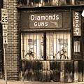 Johnson City Tennessee - Gun Shop by Frank Romeo
