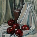 Jug With Apples by Natalia Shtainfeld-Borovkov