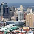 Kansas City Skyline Panorama by Bill Cobb