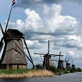 Kinderdijk Windmills by Soon Ming Tsang
