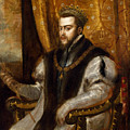 King Philip II Of Spain by Titian