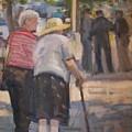 2 Ladies In Ny by Bart DeCeglie