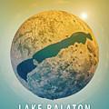 Lake Balaton 3d Little Planet 360-degree Sphere Panorama by Frank Ramspott