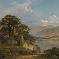 Lake Como by Thomas Moran