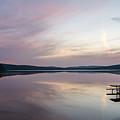 Lake Of Two Rivers Sunrise by Richard Kitchen
