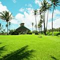 Lanakila 'ihi'ihi O Iehowa O Na Kaua Church Keanae Maui Hawaii by Sharon Mau