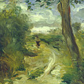 Landscape Between Storms by Auguste Renoir