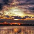 Layered Clouds by Glenn Forman