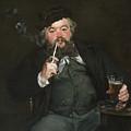 Le Bon Bock by Edouard Manet