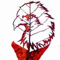 Leafcarving by Deepan Sa