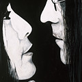Lennon And Yoko by Ashley Price