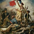 Liberty Leading The People by Eugene Delacroix