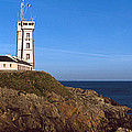 Lighthouse On The Coast, Saint-mathieu by Panoramic Images