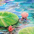 Lilies by Medea Ioseliani